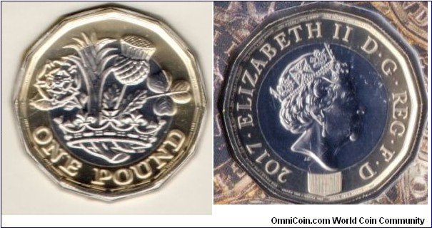 £1 The New One Pound Coin