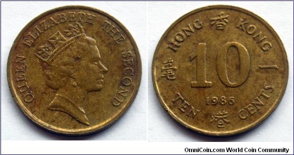 Hong Kong 10 cents.