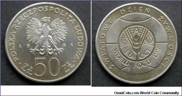 Poland 50 złotych.