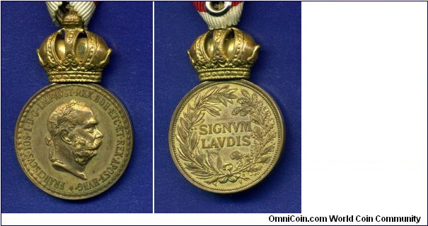 Medal SIGNUM LAUDIS.