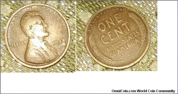 Lincoln Cent, Wheat Reverse and bigger alphabets, Philadelphia, bronze: 3,1100 g, 19 mm in Diameter.