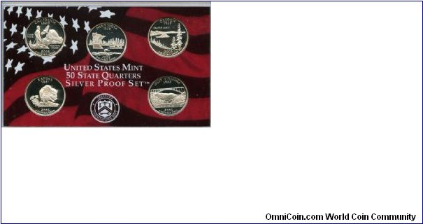 Mint issued Silver State Quarters