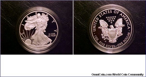 2011-W Proof Silver Eagle from my 25th anniversary set!